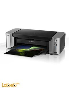 Canon Printer - 8 Single Inks - USB 2.0 - Grey Color - PIXMA PRO-100S