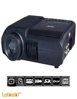 DVD Projector Home Theater Portable 320x240P DVD-3680