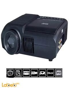 DVD Projector Home Theater Portable - 320x240P - DVD-3680