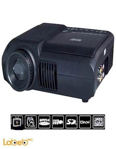 بروجكتور DVD LED محمول - دقة 240*320 - 0.5-2.5 متر - DVD-3680