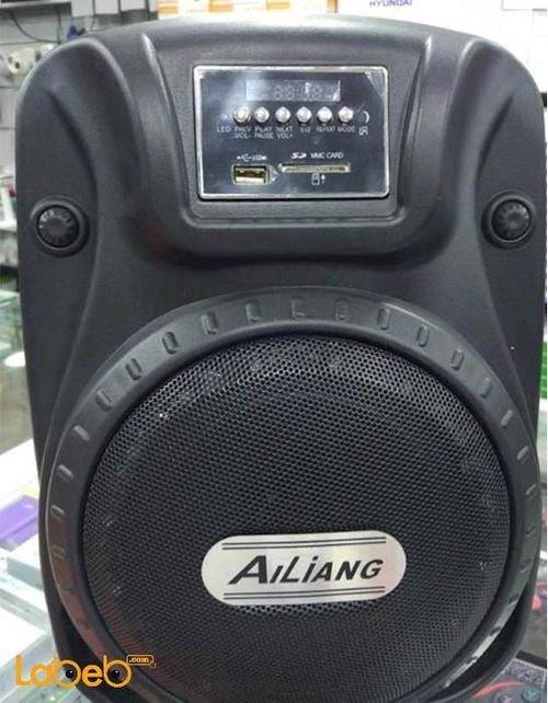 سماعة للرحلات بشكل حقيبة Ailiang منفذ USB أسود AH-6C-DT