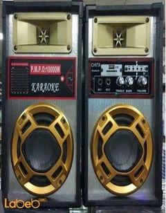 سماعات دي جي Chita - حجم 5 انش - بلوتوث - أسود - جهاز تحكم