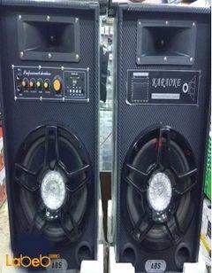 ABS DJ speaker - 10inch - USB/SD/FM - Black color