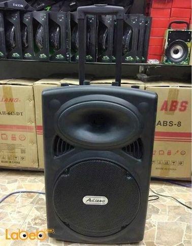 مكبر صوت بشكل حقيبة سفر Ailiang بلوتوث راديو F14K-DT