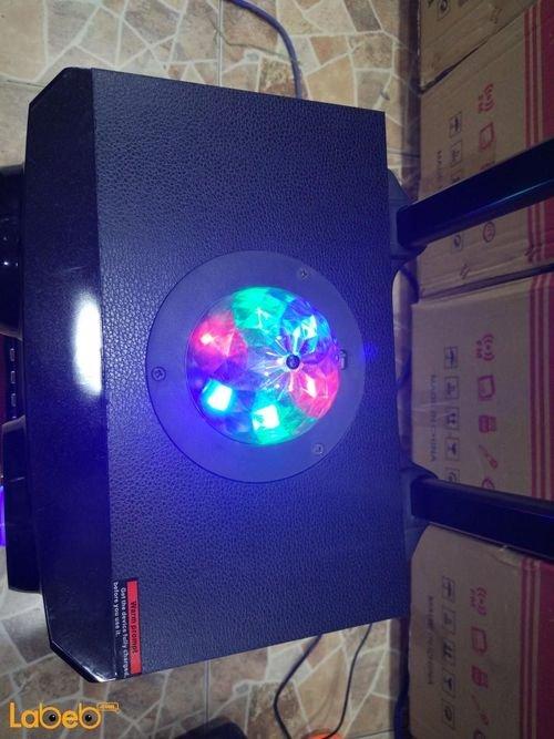 LED Light Extra Large Woofer Portable Bluetooth Speaker MS-72BT model