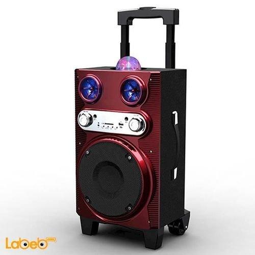 LED Light Extra Large Woofer Portable Bluetooth Speaker MS-72BT