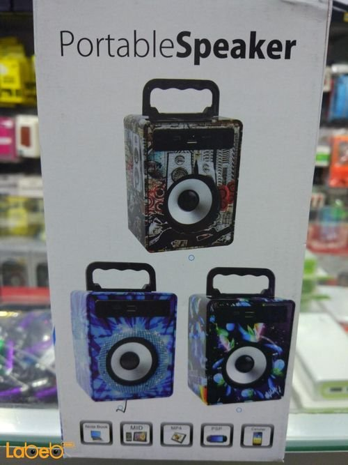 Portable Speaker wireless blue design KS-883 model