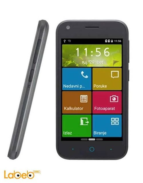 ZTE BLADE L110 Smartphone 4GB 4inch 3G Black color