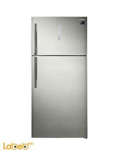 Samsung Refrigerator top freezer - 620L - Silver - RT62K7060SP