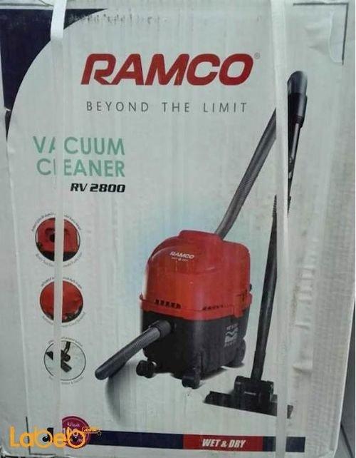 مكنسة كهربائية رامكو للاستخدام الرطب والجاف 1800 واط RV-2800