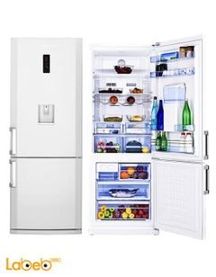 Beko Refrigerator Bottom Freezer - 426L - White - CN 152220 DE