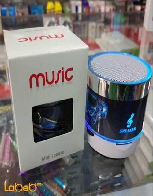 مكبر صوت حجم صغير music سعة 520mAh بلوتوث 2.1