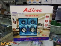 Music-F Home Speaker - 25W - Black color - E-013 model