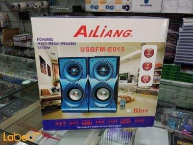 مكبر صوت منزلي Music-F - قدرة 25 واط - لون أسود - موديل E-013