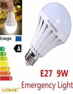 Emergency light - 9W - 50000hours - Beam Angle 120 - White