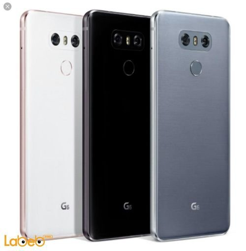 LG G6 Smartphone 64GB 4GB RAM 5.7inch White color