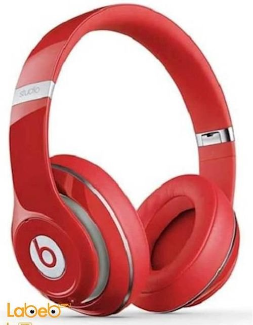Beats studio Bluetooth headset Up to 10m Red color STN-13