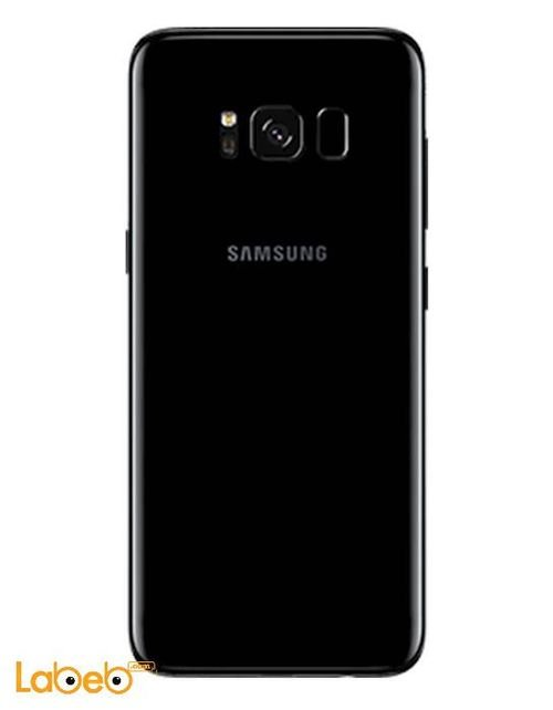 موبايل سامسونج  S8 plus ذاكرة 64 جيجابايت 6.2 انش لون أسود