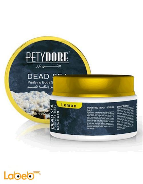 Petydore Purifying Body Scrub Salt 300g Lemon 6254000079137