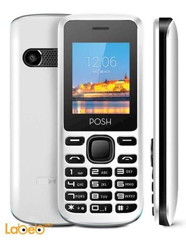 موبايل بوش - 32 ميجابايت - مع كاميرا - لون أبيض - موديل A100