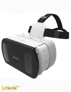 نظارة ثلاثية الأبعاد لينوفو - شاشة 5-6 انش - لون ابيض - V200