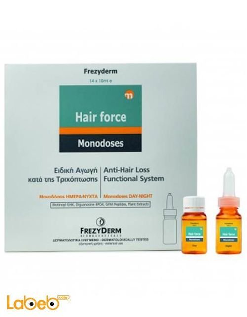 أمبولات فعالة لمقاومة تساقط الشعر Frezydrem ليل نهار 14*10 مل