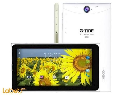 GTIDE Tablet 3G 7inch 8GB White color T11