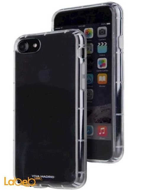 Viva Madrid Mobile cover for iPhone 7 Clear color