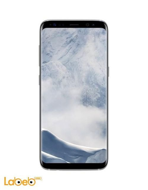 Samsung S8 smartphone Arctic Silver