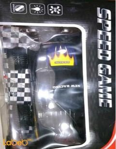 SPEED GAME New Racing Car - With Remote Control - Black Colour