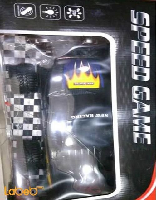 SPEED GAME New Racing Car With Remote Control Black Colour