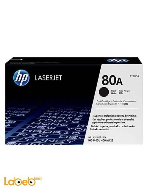 HP Laserjet Toner 80A Black Colour CF280A Model