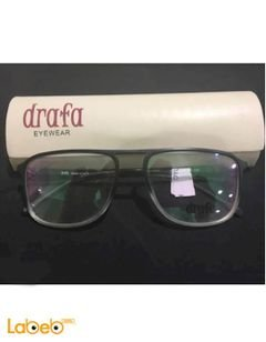 Drafa eyeglasses - Black color frame - Clear lenses