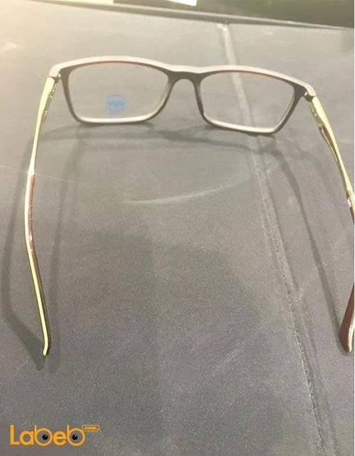 Vegan eyeglasses Grey color frame Clear lenses