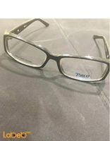 Pirlo eyeglasses Black color frame Clear lenses
