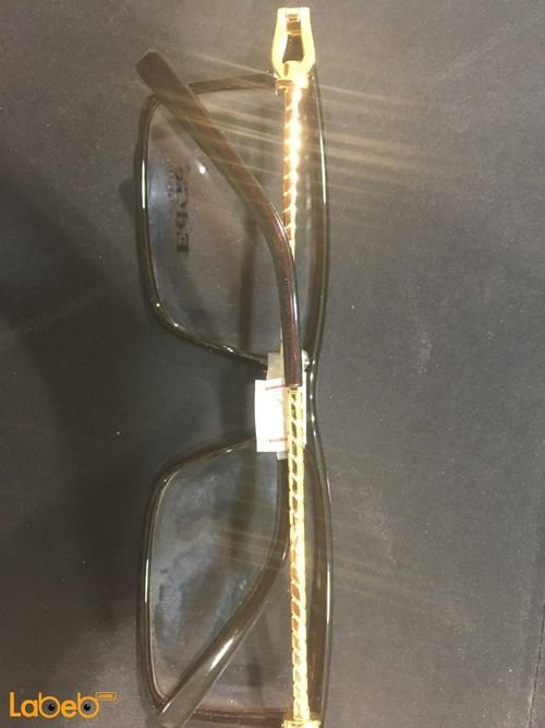 4ff7665fb ... نظارات طبية ماركة Edge اطار أسود وذهبي عدسة شفافة أغلاق جميع الصور