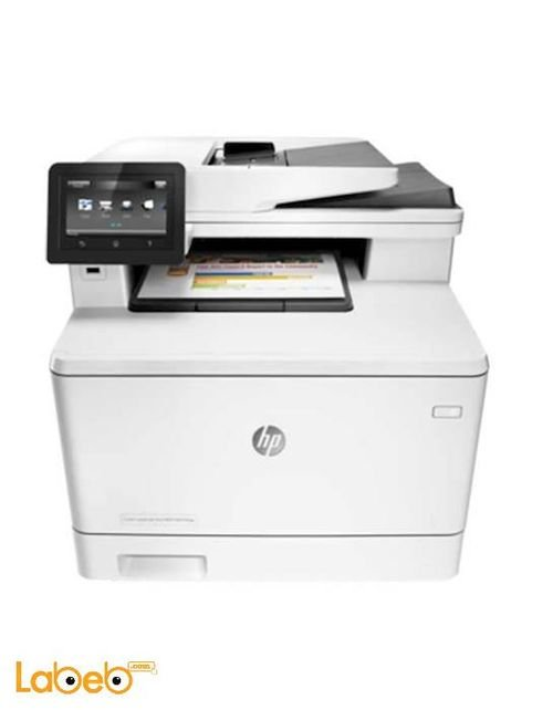 HP Color LaserJet Pro MFP Wireless White M477fnw Model