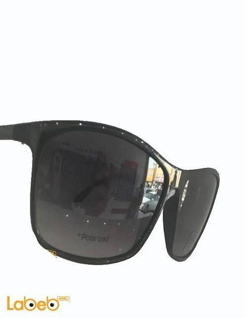 نظارة شمسية Hugo Boss إطار أسود عدسة سوداء
