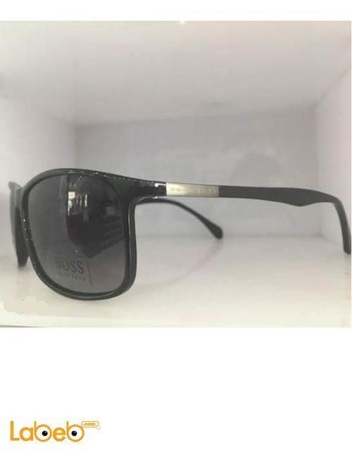 نظارة شمسية Hugo Boss إطار أسود عدسة لون أسود