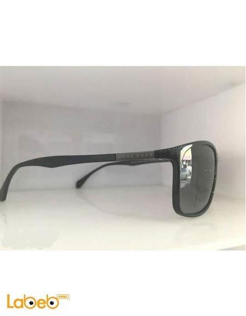 نظارة شمسية ماركة Hugo Boss إطار أسود عدسة سوداء