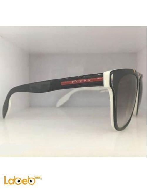 Prada sunglasses Black and White frame Black lenses