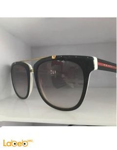 Prada sunglasses - Black & White frame - Black lenses