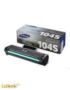 Samsung toner - Black - Samsung printers - 1500pages - MLT-D104S