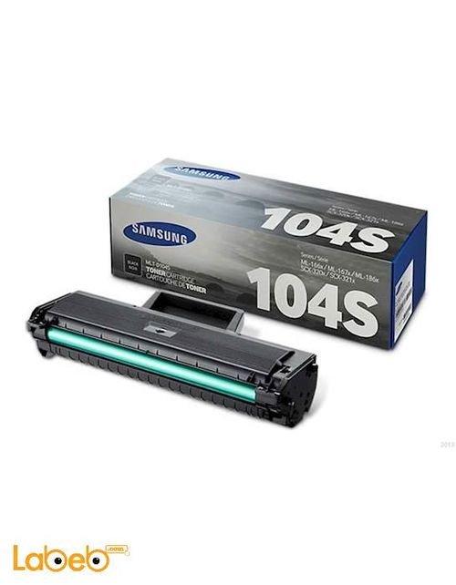 Samsung toner Black Samsung printers 1500pages MLT-D104S