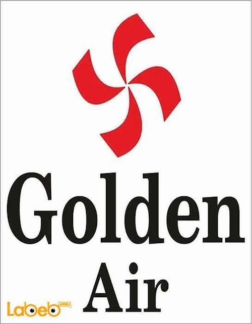 Golden Air split Air conditioner 2 tons Black AV246MQ model