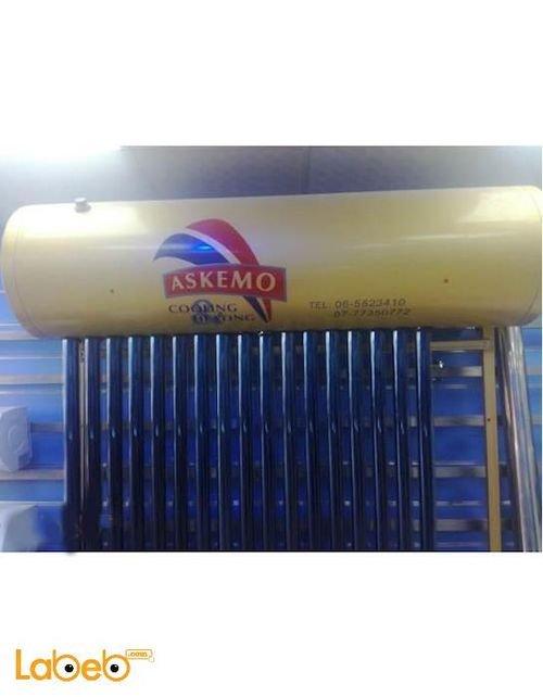 سخان شمسي اسكيمو 20 انبوب ذهبي صناعة صينية