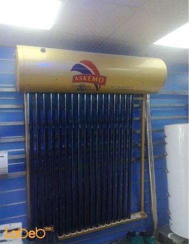 سخان شمسي اسكيمو - 20 انبوب - لون ذهبي - صناعة صينية