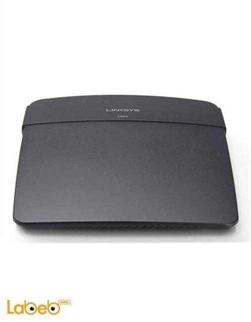 راوتر لينكسس E900 N300 تردد 2.4 جيجاهيرتز أسود