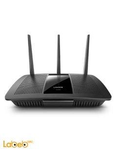 راوتر لينكسيس EA7500 - تردد 2.4 و 5 جيجاهيرتز - واي فاي - أسود