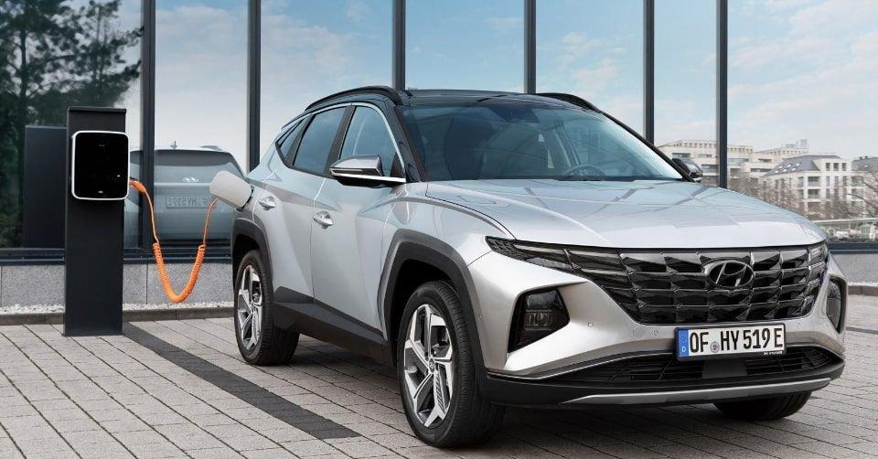 صورة سيارة هيونداي توسان هايبرد 2021